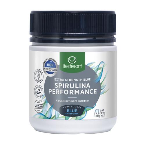 Extra Strength Blue Spirulina  Performance