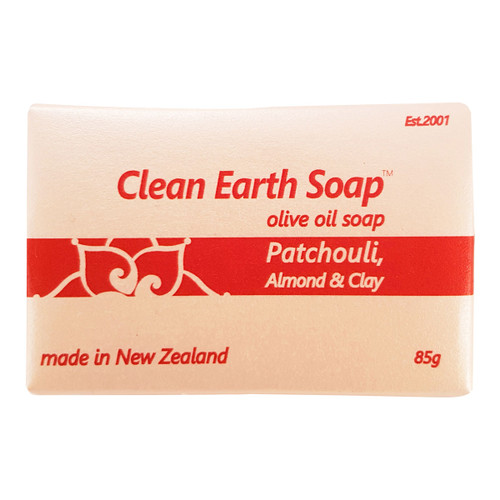 Patchouli, Almond & Clay Bar