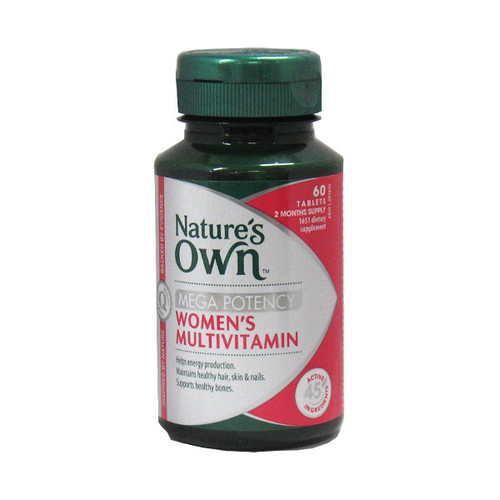 Mega Potency Womens Multivitamin