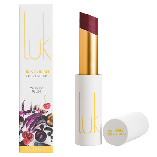 Lip Nourish Sheer Lipstick - Cherry Plum