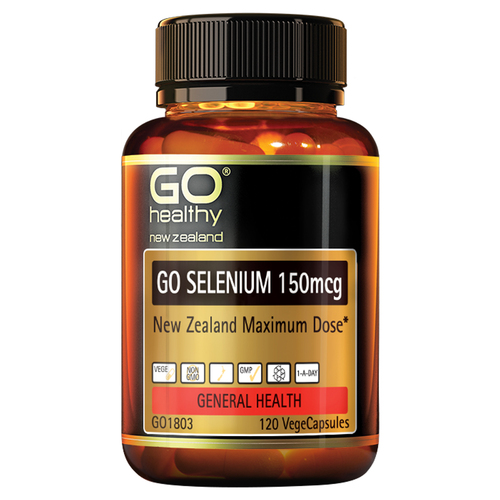 Go Selenium 150mcg