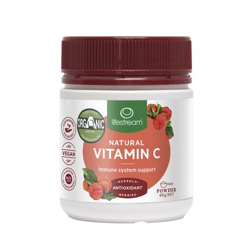 Natural Vitamin C Powder - Certified Organic