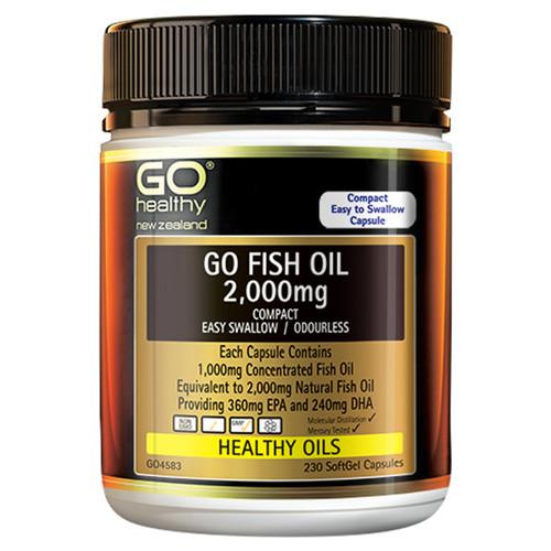 Go Fish Oil 2,000mg
