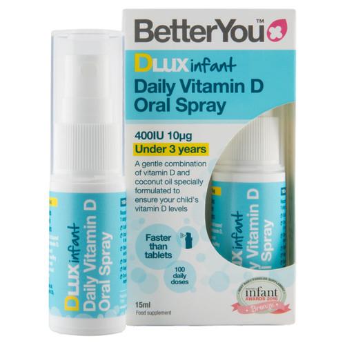 Infant Daily Oral Vitamin D Spray