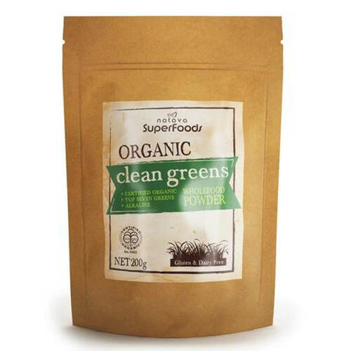 Certified Organic Clean Greens