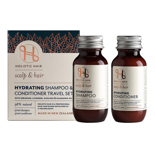 Hydrating Shampoo & Conditioner Travel Set