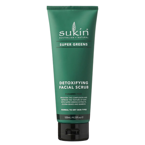 Super Greens Detoxifying Facial Scrub