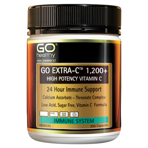 Go Extra-C 1200+ High Potency Vitamin C