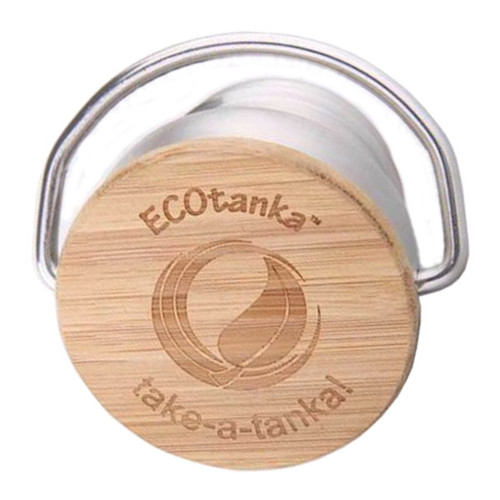 Bamboo & Stainless Steel Flat Lid
