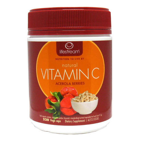 Natural Vitamin C - Cert. Organic