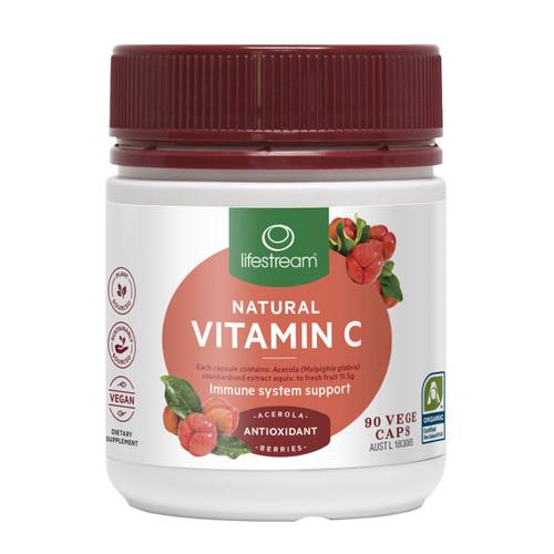 Natural Vitamin C - Cert. Organic