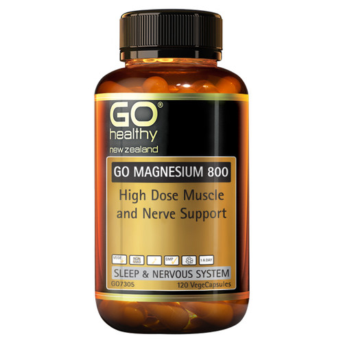 Go Magnesium 800 - High Dose Muscle & Nerve Support