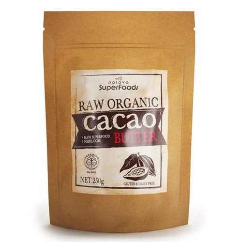 Certified Organic Raw Cacao Butter