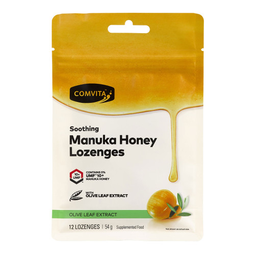 Manuka Honey Lozenges - Olive Leaf Extract