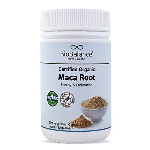 Maca Root Certified Organic 800mg Capsules