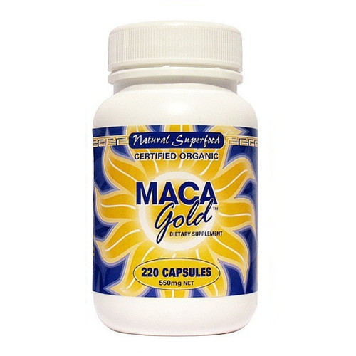 Maca Gold 550mg capsules
