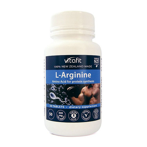 L-Arginine 500mg - Amino Acid