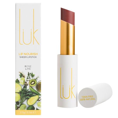 Lip Nourish Sheer Lipstick - Rose Lime