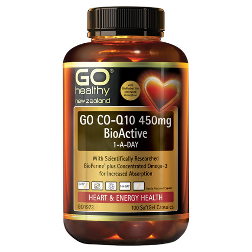 Go Co-Q10 450mg BioActive 1-A-Day