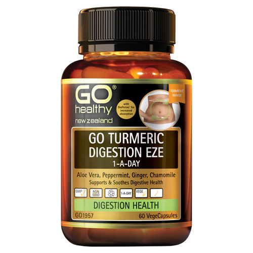 Go Turmeric Digestion Eze 1-A-Day