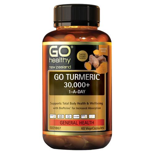 Go Turmeric 30,000+ 1-A-Day