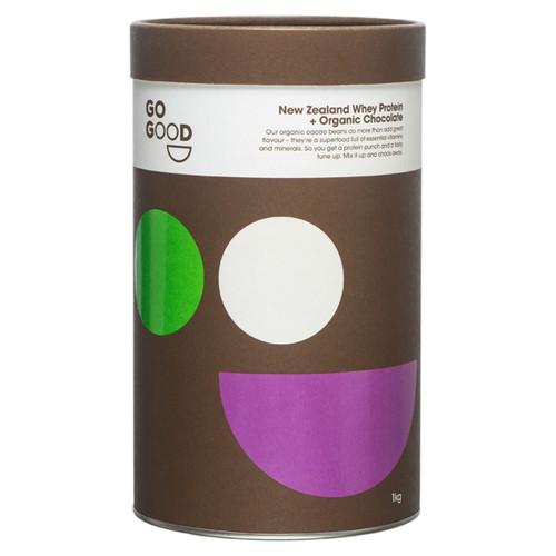 New Zealand Whey Protein + Organic Chocolate