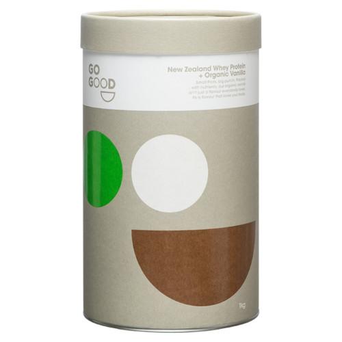 New Zealand Whey Protein + Organic Vanilla