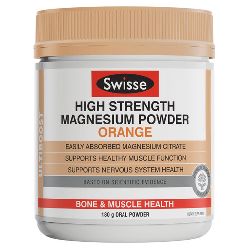 High Strength Magnesium Powder - Orange