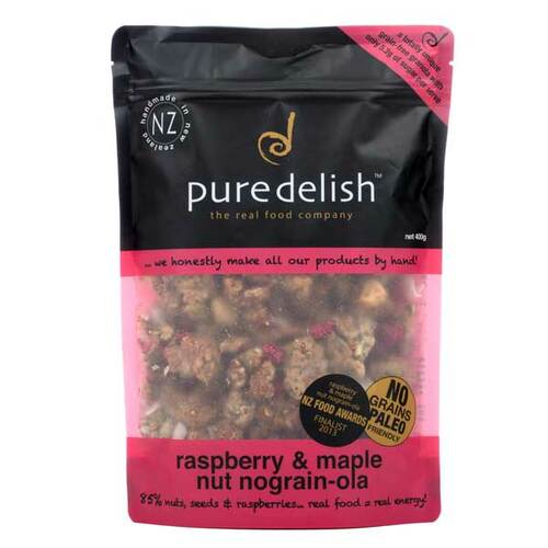 Raspberry & Maple Nut Nograin-ola
