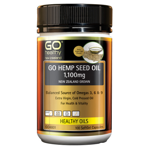 Go Hemp Seed Oil 1100mg