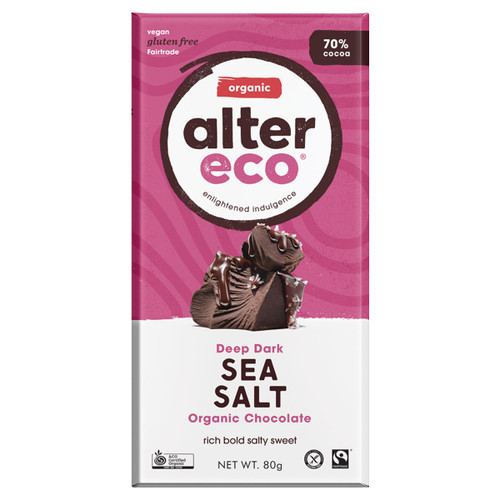 Sea Salt 70% Chocolate