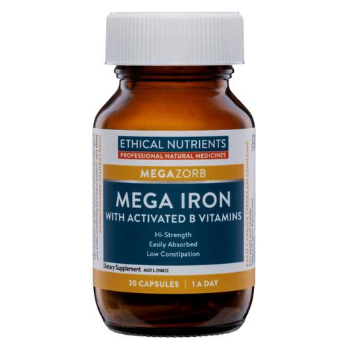 MEGAZORB Mega Iron with Activated B Vitamins