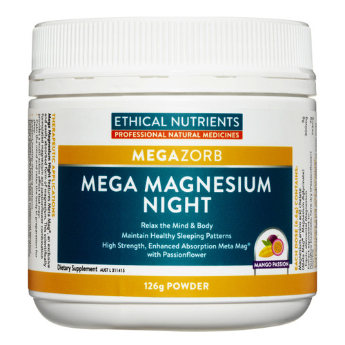 MEGAZORB Mega Magnesium Night Mango Passion