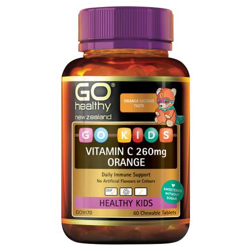 GO Kids Vitamin C Orange