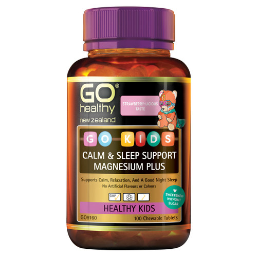 GO Kids Calm & Sleep Support Magnesium Plus