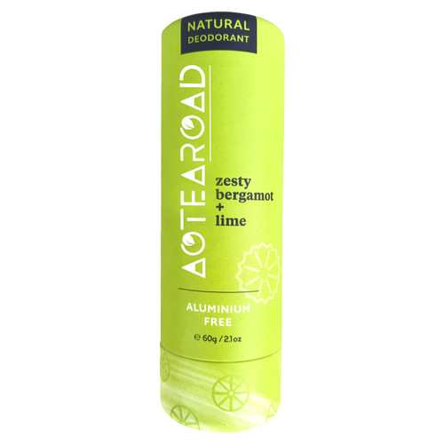 Natural Deodorant Zesty Bergamot + Lime