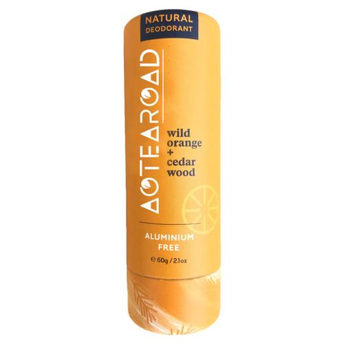 Natural Deodorant Wild Orange + Cedarwood