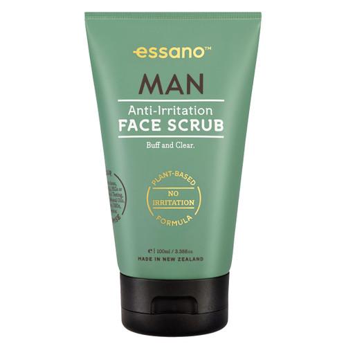 Man Anti-Irritation Face Scrub