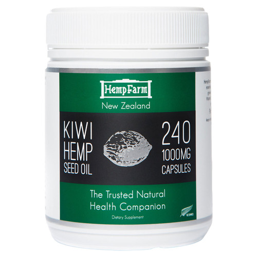 Hemp Seed Oil Capsules 1000mg