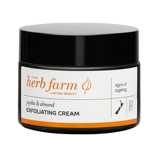 Jojoba & Almond Exfoliating Cream