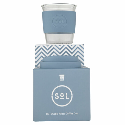 Reusable Cup - Blue Stone