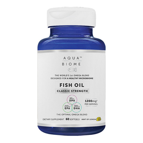 Aqua Biome™ Fish Oil Classic Strength