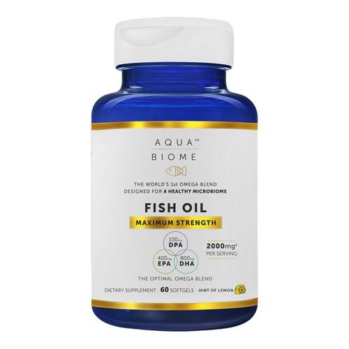 Aqua Biome™ Fish Oil Maximum Strength