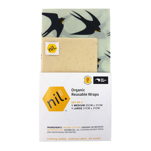 Beeswax Food Wraps - Bird