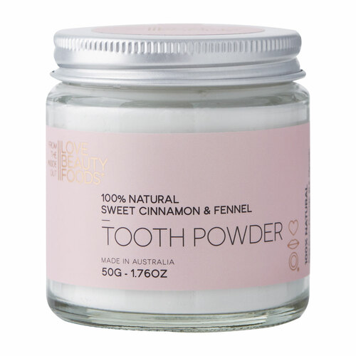 Sweet Cinnamon & Fennel Natural Tooth Powder
