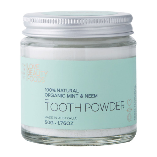 Mint & Neem Natural Tooth Powder