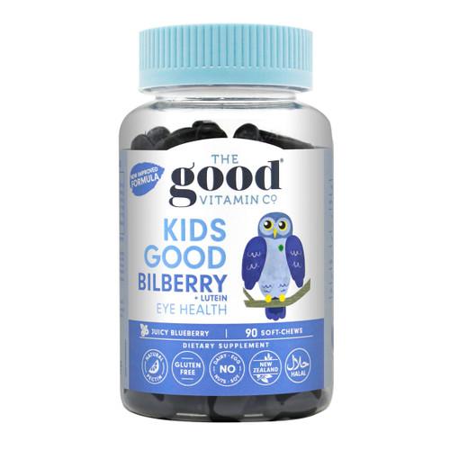 Kids Good Bilberry + Lutein Eye Health