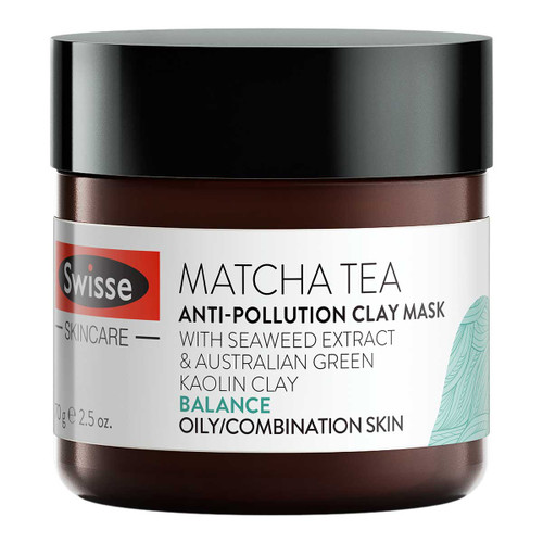 Matcha Tea Anti-Pollution Clay Mask