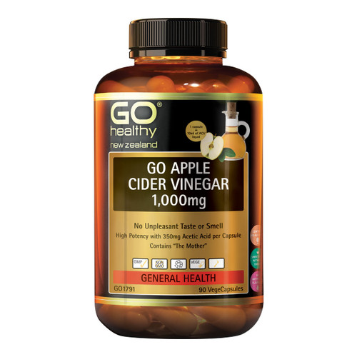 GO Apple Cider Vinegar 1,000mg