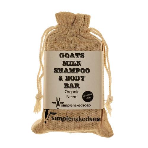 Goats Milk Shampoo Bar - Organic Neem